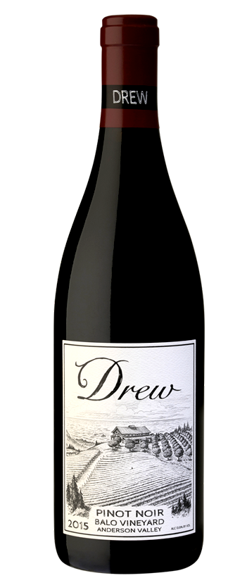 2015 Balo Vineyard Anderson Valley Pinot Noir from Drew Family Cellars