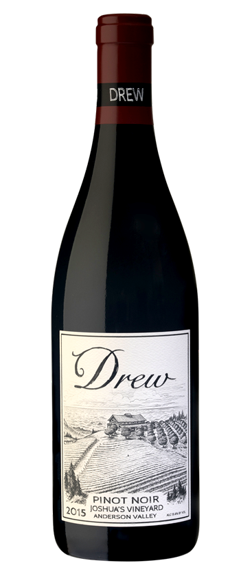 2015 Joshua's Vineyard Anderson Valley Pinot Noir from Drew Family Cellars