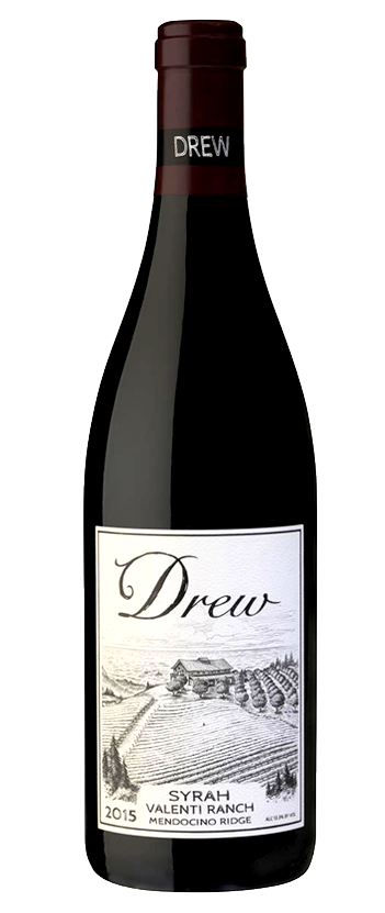 2015 Valenti Ranch Mendocino Ridge Syrah from Drew Family Cellars